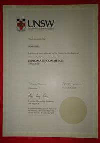 UNSW diploma, UNSW certificate, buy a fake degree of UNSW.