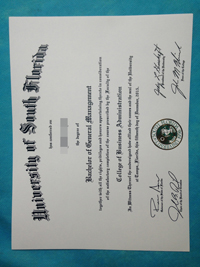 BUY University of South Florida diploma in here. buy fake diploma.