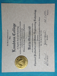 How to buy Lambton College fake diploma.buy certificate.