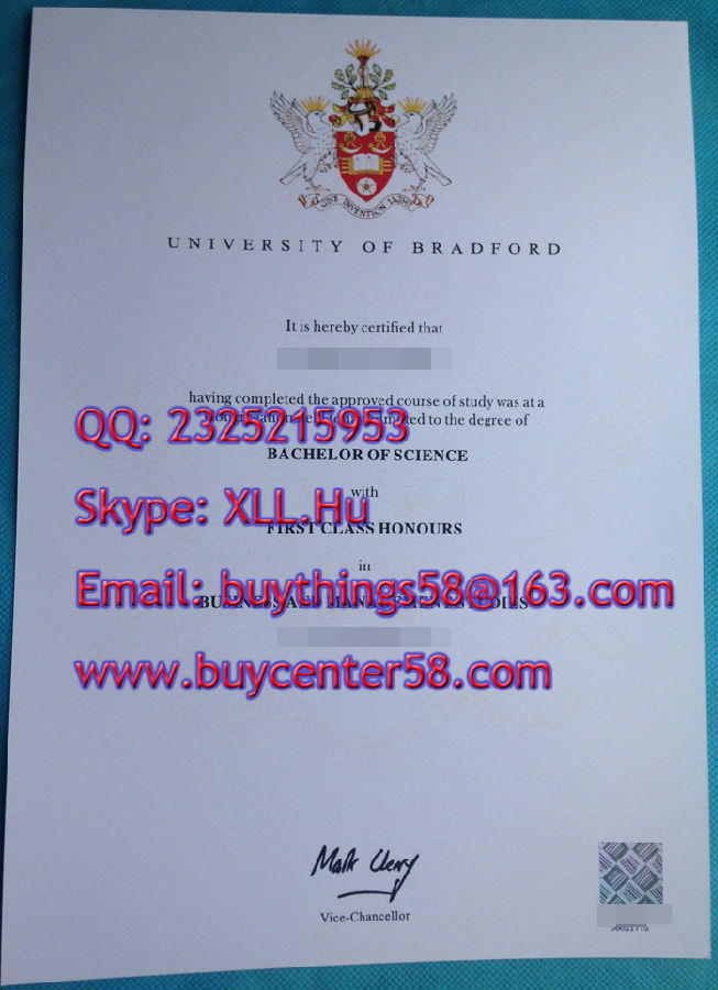 University of Bradford bachelor degree